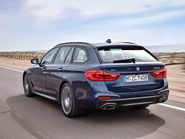 Edel und funktional: BMW präsentiert den neuen 5er Touring