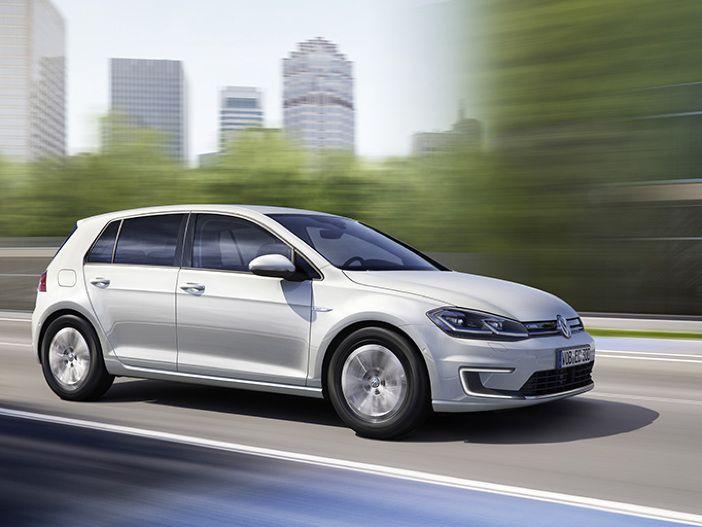 Rein elektrisch unterwegs: Der neue VW e-Golf