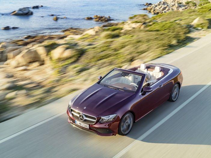 Offener Gleiter mit Stern: Das neue Mercedes E-Klasse Cabrio
