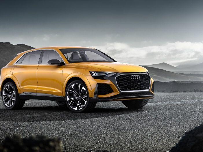 Zukunfts-SUV mit Mild-Hybrid: Der Audi Q8 sport concept
