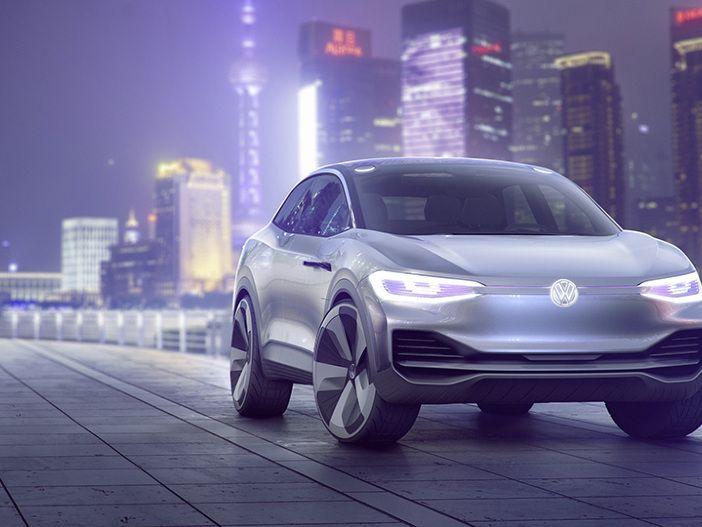 Elektro-Crossover mit 500 Kilometer Reichweite von VW: Der neue I.D. CROZZ