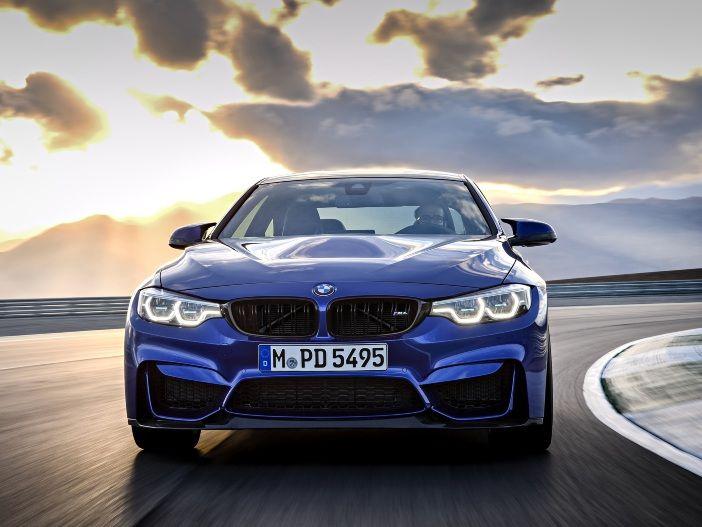 Richtig sportlich: Der neue BMW M4 CS