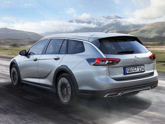 Sportiver Offroad-Kombi: Der neue Opel Insignia Country Tourer
