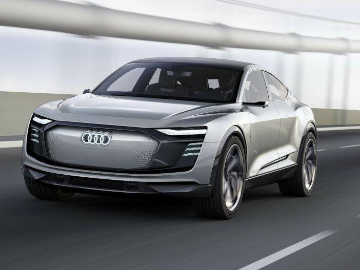 Leistungsstarkes Elektro-Coupé: Der Audi e-tron Sportback concept