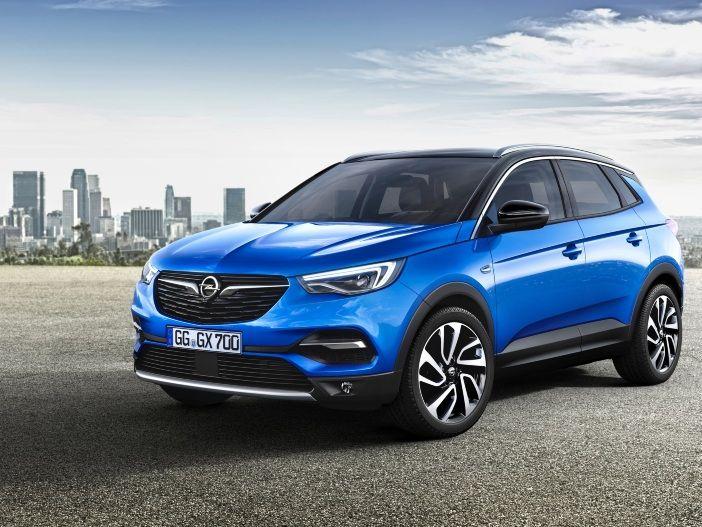 SUV mit Blitz im Kühlergrill: Der neue Opel Grandland X