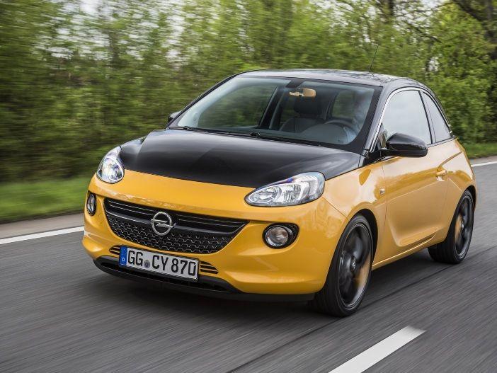 Schwarze Design-Akzente: Der neue Opel Adam Black Jack
