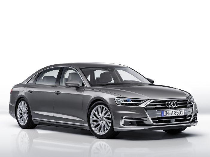 Oberklasse mit vier Ringen: Der neue Audi A8