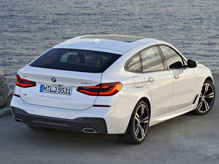 Reise-Coupé mit Schrägheck: Der neue BMW 6er GT