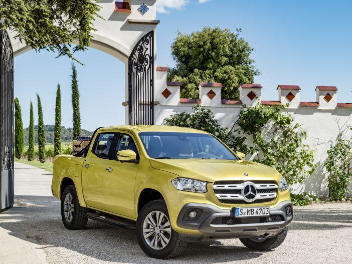 Lifestyle-Pickup mit Stern: Mercedes-Benz präsentiert die neue X-Klasse