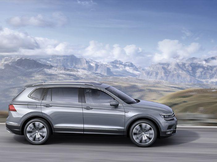 SUV in XL: Marktstart für den VW Tiguan Allspace