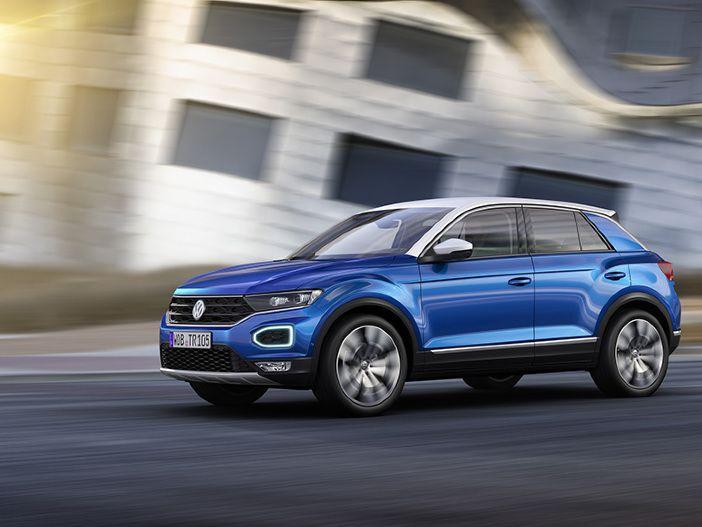 Kompaktes Multi-Talent: Der neue VW T-Roc