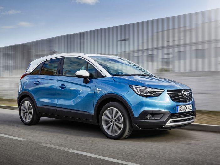 Hohe Reichweite, niedrige Emissionen: Der Opel Crossland X als Autogas-Variante