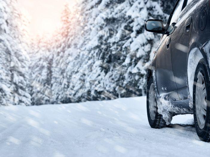 Mit Allrad sicher auf Schnee unterwegs