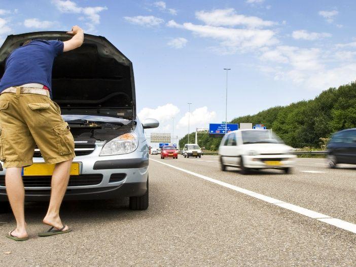 Sicherheitsreserve: Der Seitenstreifen der Autobahn