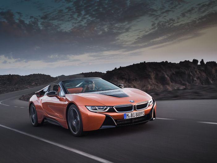 Futuristischer Roadster mit Plugin-Hybrid: Die neue Generation des BMW i8