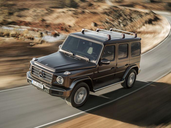 Kantiger Geländegänger: Auch die neue Mercedes G-Klasse bleibt sich treu