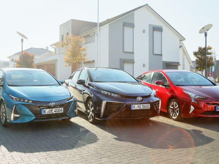 Mehr als 1,5 Millionen Fahrzeuge im Jahr 2017: Bei Toyota spielt der Hybrid-Antrieb eine tragende Rolle
