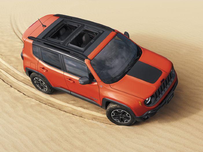 Verbessertes Infotainment und spezielle Offroad-Funktionen: Der neue Jeep Renegade