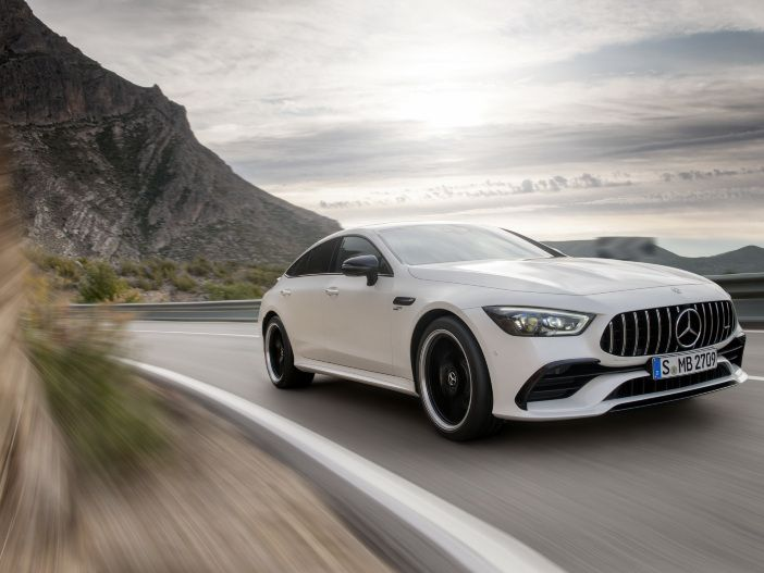 Power-Coupé mit vier Türen: Der neue Mercedes-AMG GT 4-Türer