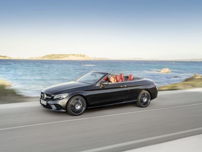 Bereit für den Sommer: Das neue Mercedes C-Klasse Cabriolet