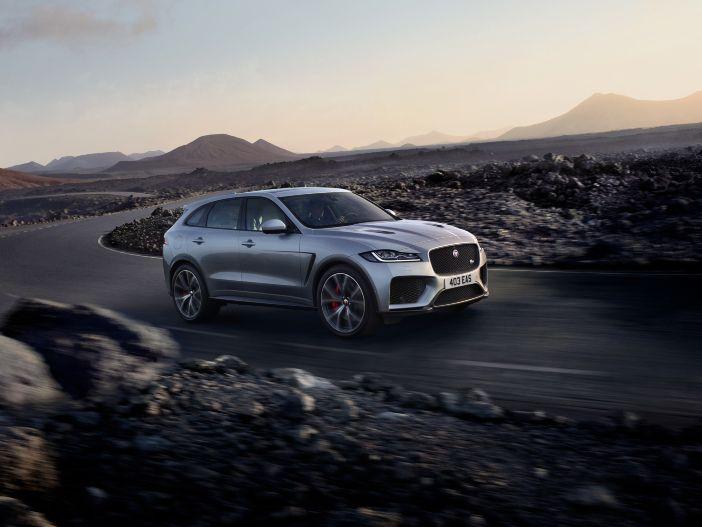 SUV mit Supersport-Genen: Der neue Jaguar F-PACE SVR