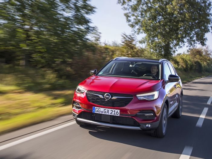 Color Line: Opel macht den Grandland X bunter