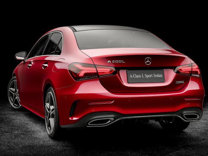 Kompaktes Premium-Stufenheck: Die neue Mercedes A-Klasse Limousine