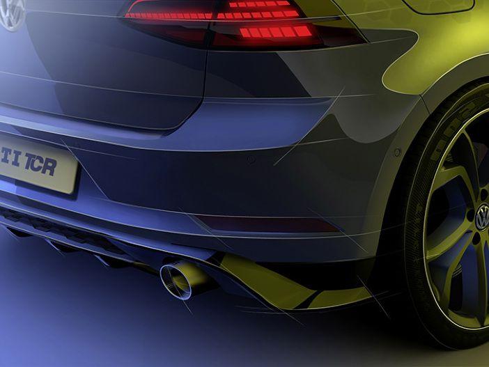 Ausblick auf das nächste GTI-Topmodell: Der VW Golf GTI TCR