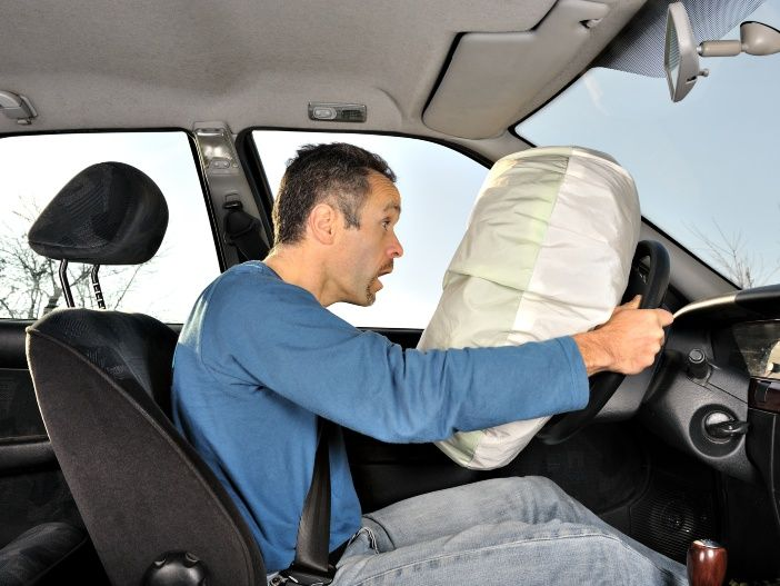 Wie funktioniert eigentlich der Airbag im Auto?