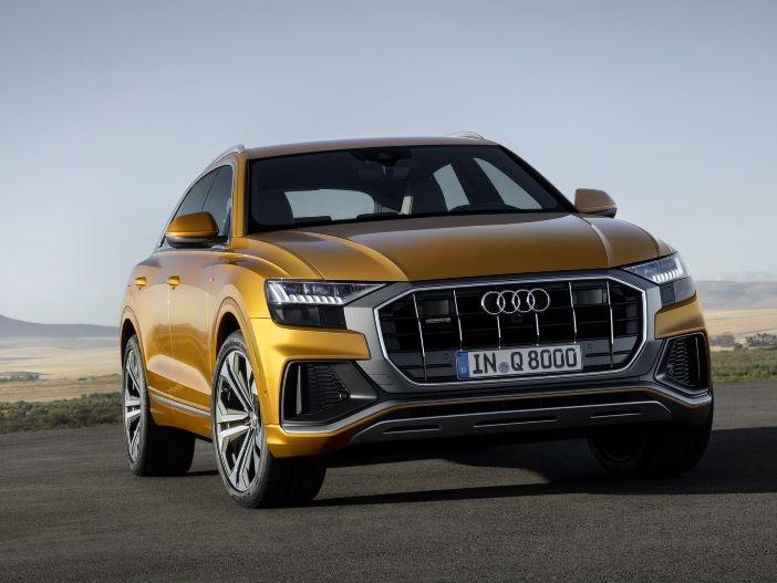 Nobles SUV-Coupé mit vier Türen: Der neue Audi Q8