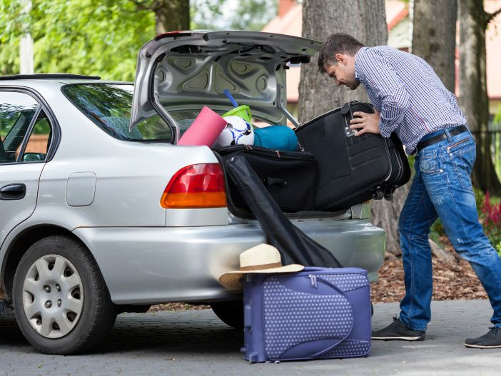 Fit für den Urlaub: So beladen Sie Ihr Auto richtig