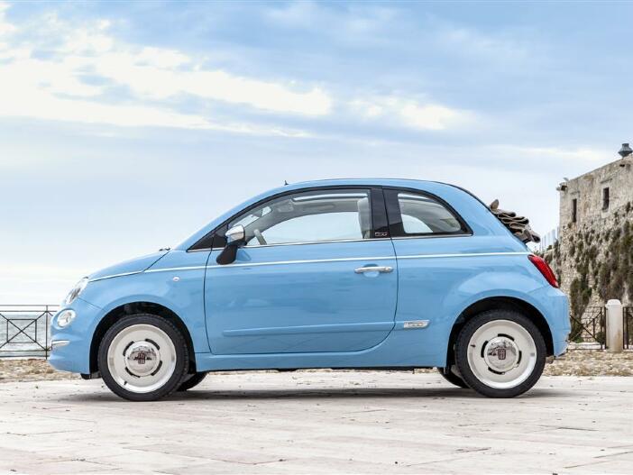Kleinwagen-Ikone für den Weg zum Strand: Der neue Fiat 500 Spiaggina '58