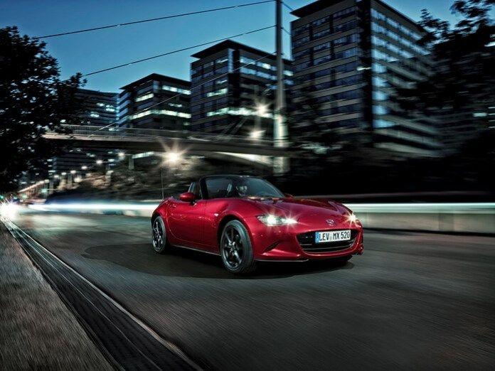 Stärkere Motoren: Der Mazda MX-5 für das neue Modelljahr