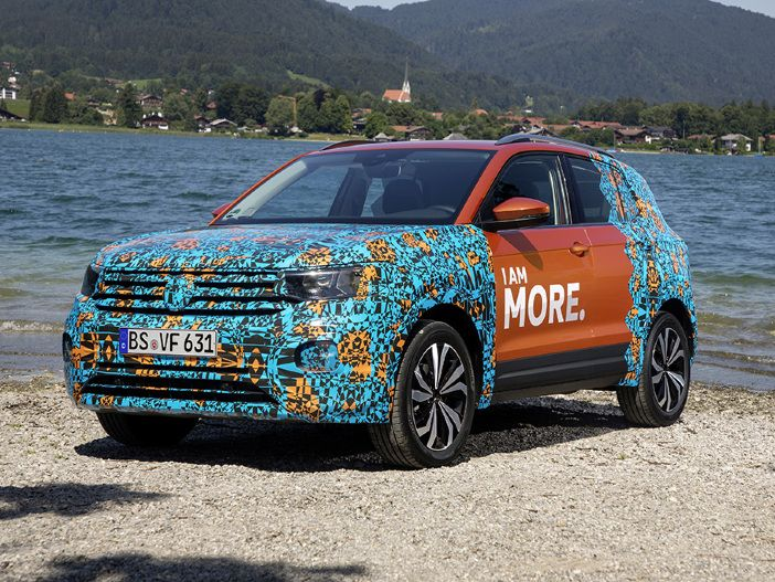 SUV im kompakten Format: Erste Blicke auf den neuen VW T-Cross