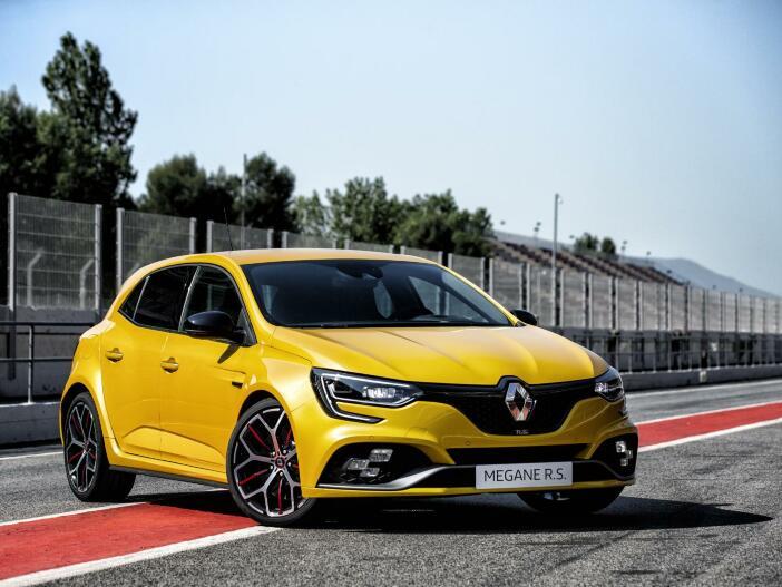 Leistungsgesteigerter Turbo: Der neue Renault Mégane R.S. TROPHY