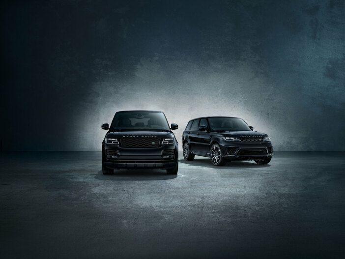Dunkler Charme: Die Shadow Edition für Range Rover und Range Rover Sport