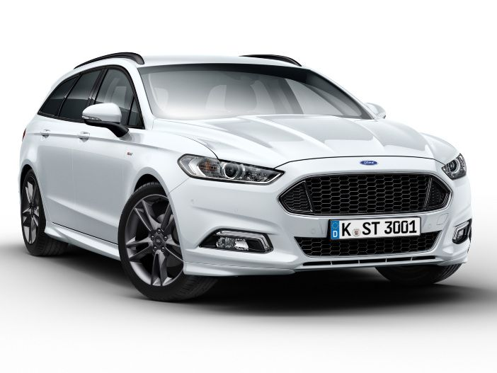 Bald auch als Kombi: Der neue Ford Mondeo Hybrid Turnier