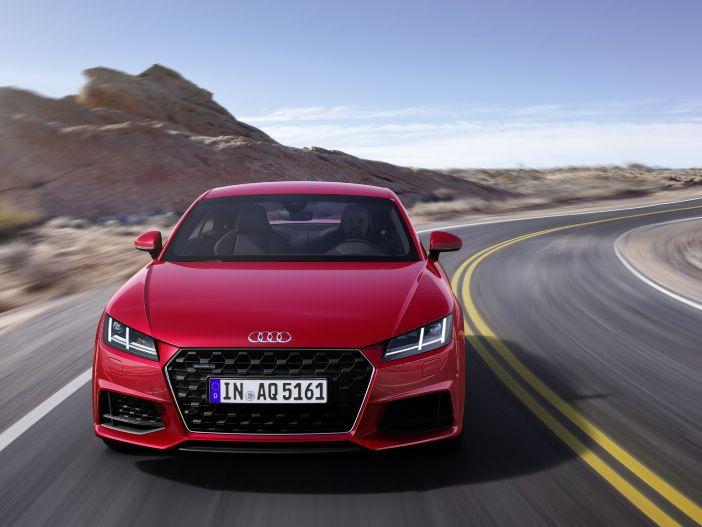 Sportlich als Coupé und Roadster: Der neue Audi TT