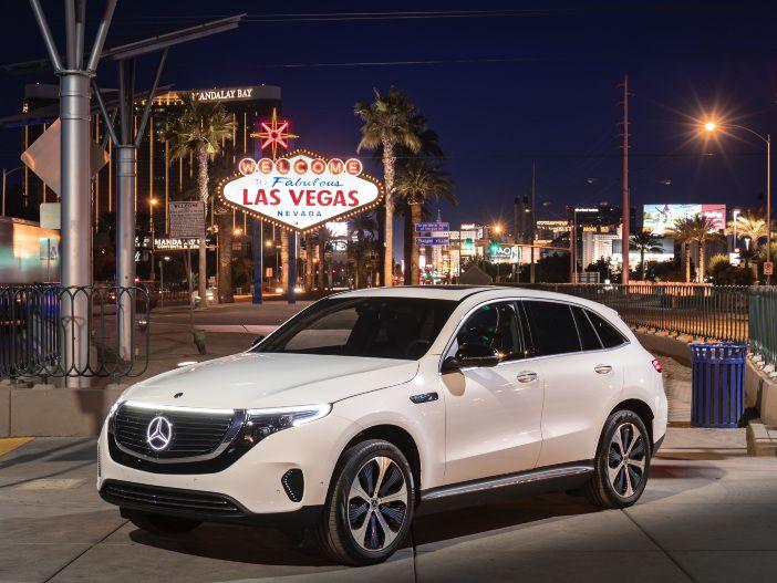 Kraftvoller Elektro-Crossover mit Stern: Der neue Mercedes-Benz EQC