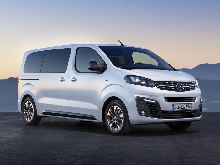 Jetzt mit 9 Sitzen: Der neue Opel Zafira Life