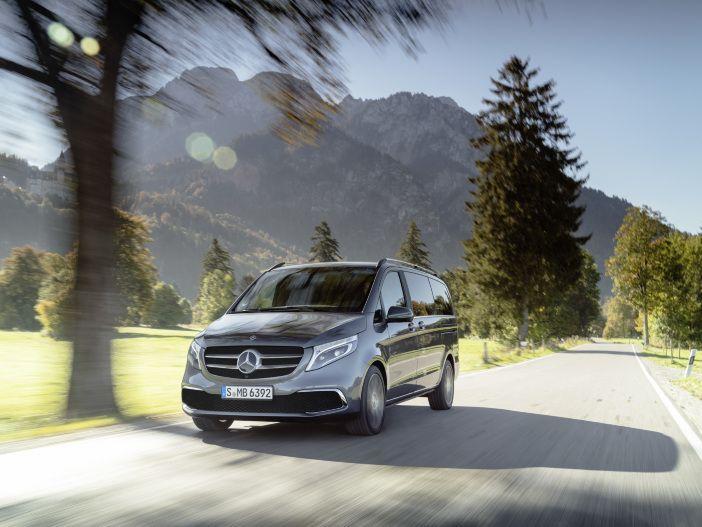 Effiziente Motoren, frische Optik und auch weiterhin viel Platz: Die neue Mercedes V-Klasse