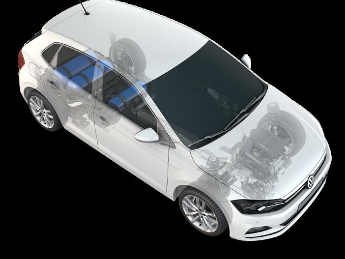 Kommen deutlich weiter: Die neuen Erdgas-Versionen von VW Polo und VW Golf