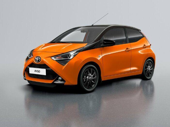 Zweifarbig lackiert: Der neue Toyota Aygo x-cite