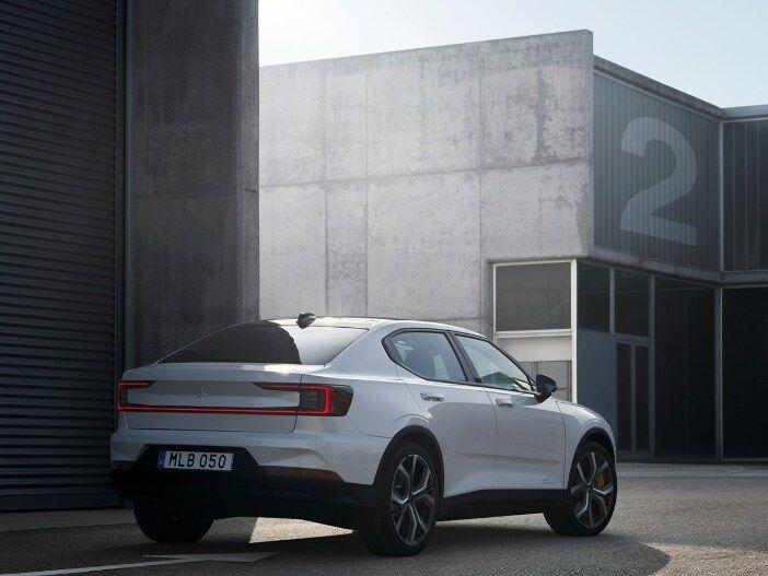 Elektrischer Kompakter der Volvo Performance-Marke: Der neue Polestar 2
