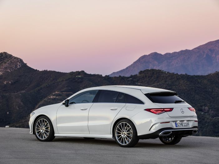 Stylisches Kombi-Coupé: Der neue Mercedes-Benz CLA Shooting Brake