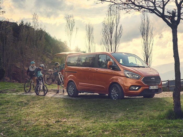 Leistungsspritze für den Diesel und neues Mild-Hybrid-System: Motor-Update für den Ford Tourneo Custom
