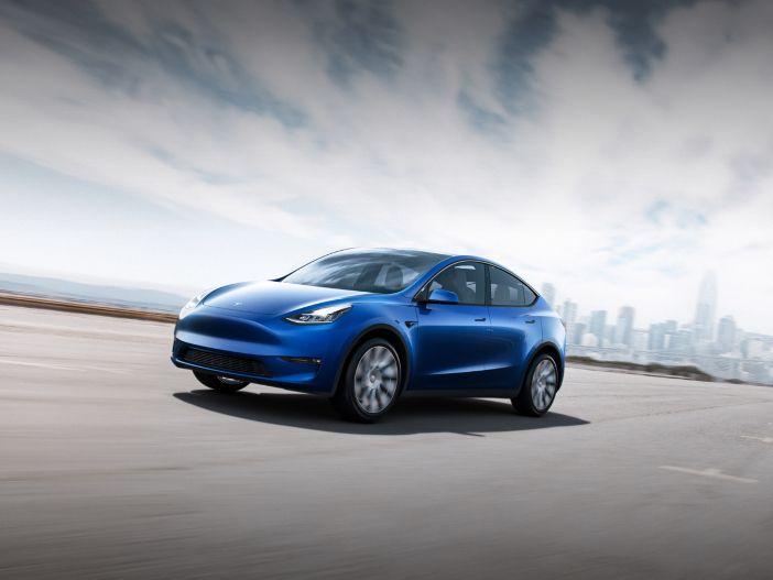 Kompakter Elektro-SUV: Das neue Tesla Model Y