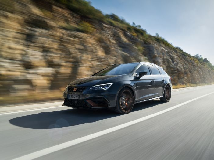 Verschärfter Power-Kombi: Der neue Seat Leon Cupra R ST
