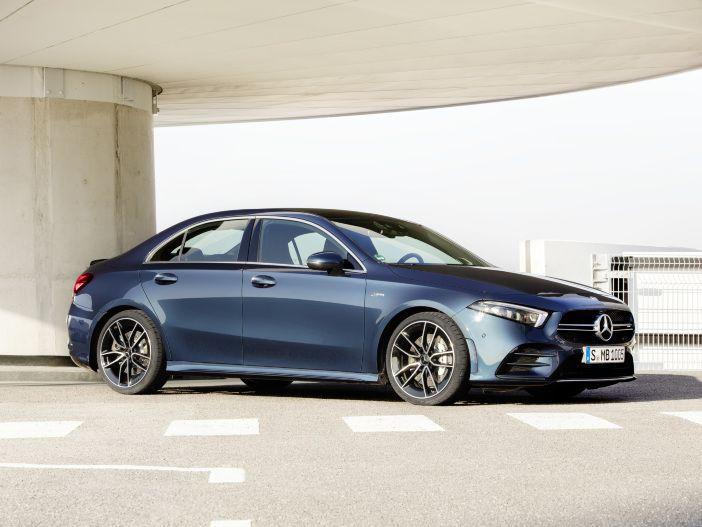 Kompakte Limousine mit viel Sportsgeist: Mercedes-AMG A 35 4MATIC