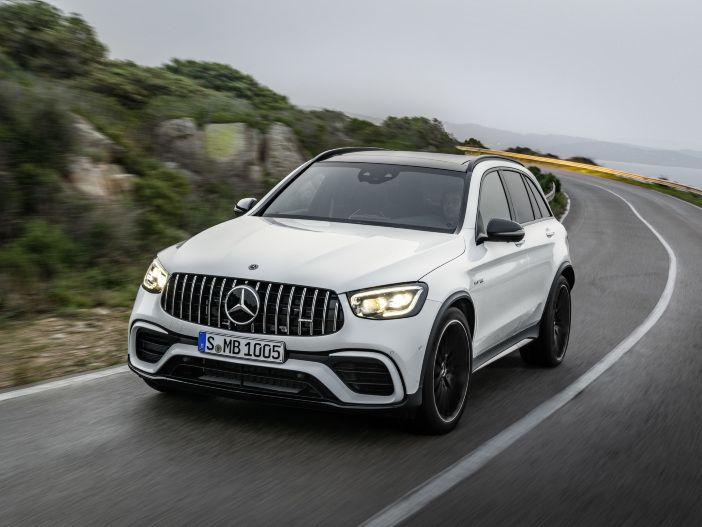 Kompakter Dampfhammer im SUV-Kleid: Mercedes-AMG aktualisiert den GLC